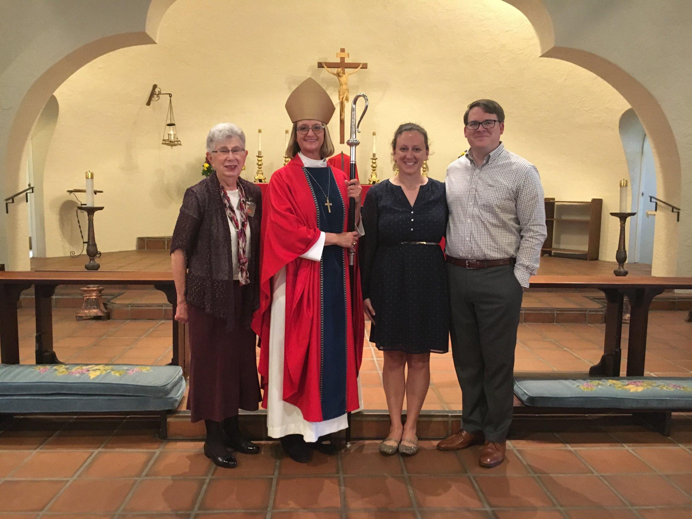 Bishop Mary Gray-Reeves Visit 1